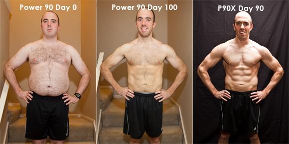 P90X-Day-90 transformation